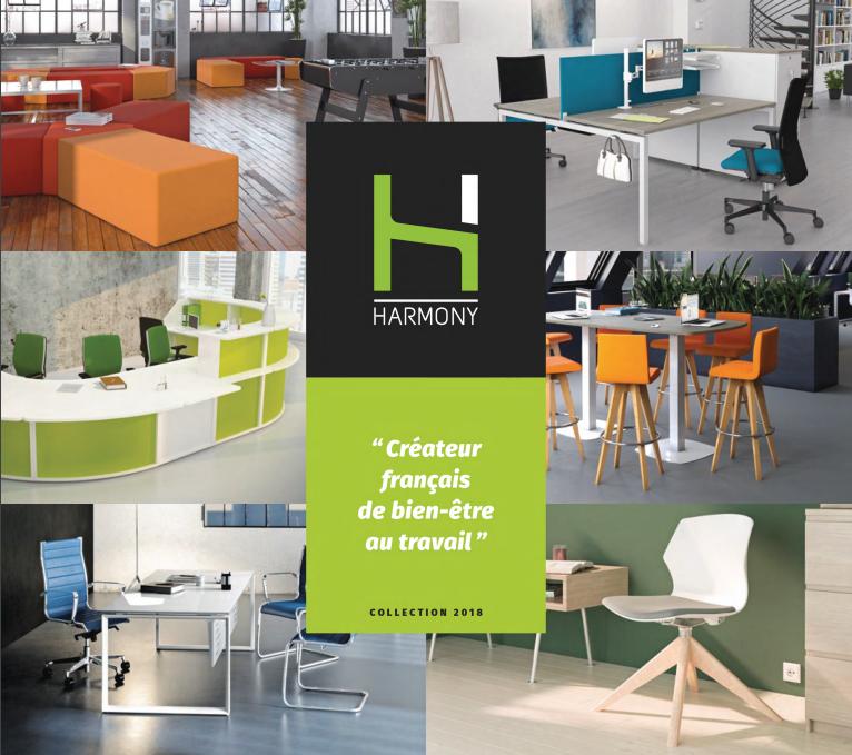 Catalogue HARMONY 2018 - Mobilier de bureau Alençon