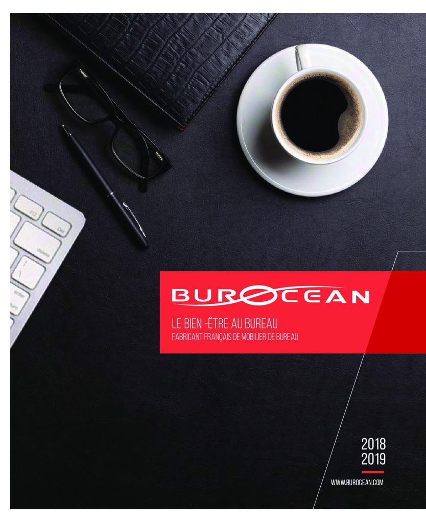 thumbnail of Catalogue BUROCEAN 2018/2019 – Mobilier de bureau Alençon