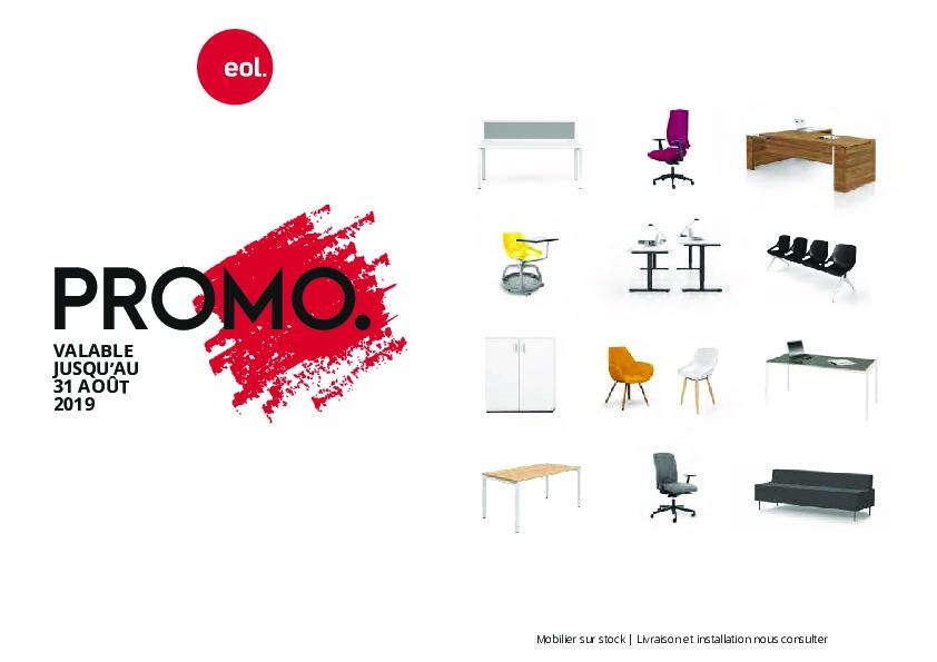 Promo Eol 31 août 2019 - Mobilier DeBureauAlençon.fr